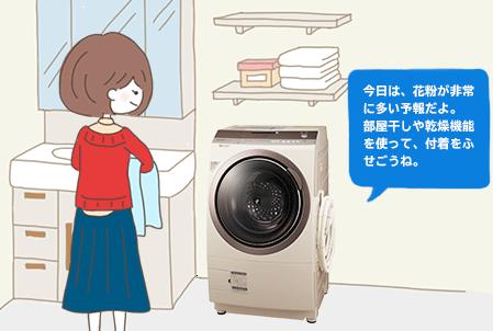 シャープドラム式洗濯乾燥機ES-Z300